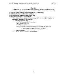 Suport Curs Contabilitate si Gestiune Fiscala - Pagina 1