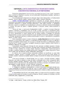 Analiză și Diagnostic Financiar - Pagina 1