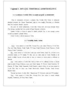 Silvicultura - Ocol Silvic - Pagina 1