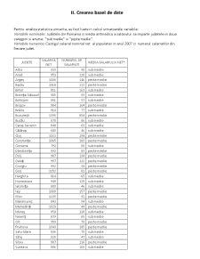 Analiza Statistica a Castigului Salarial Nominal Mediu Net pe Judete ale Romaniei in Anul 2007 - Pagina 3
