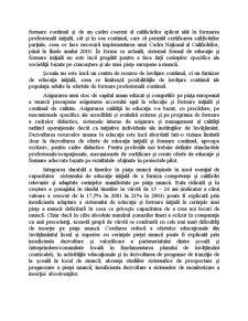 Dezvoltarea Resurselor Umane, Cresterea Gradului de Ocupare si Combaterea Excluziunii Sociale - Pagina 2