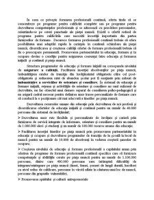 Dezvoltarea Resurselor Umane, Cresterea Gradului de Ocupare si Combaterea Excluziunii Sociale - Pagina 3