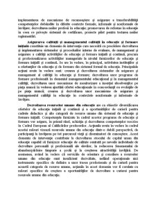 Dezvoltarea Resurselor Umane, Cresterea Gradului de Ocupare si Combaterea Excluziunii Sociale - Pagina 5