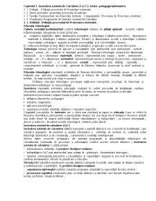 Instruire Asistată de Calculator - Pagina 1