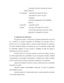 Mecanisme și Tehnici de Acordare a Creditelor - Pagina 3