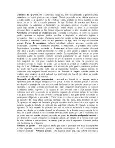 Calitatea de Aparator - Pagina 1