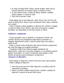 Aplicatia Microsoft Power Point - Pagina 5