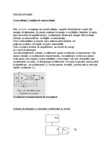 Oscilatorul - Pagina 1