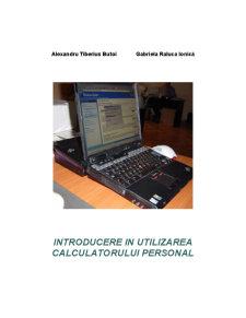 Introducere în Utilizarea Calculatorului Personal - Pagina 1