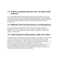 Introducere în Utilizarea Calculatorului Personal - Pagina 5
