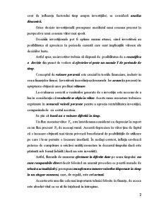 Impactul Timpului asupra Procesului Investitional - Pagina 2