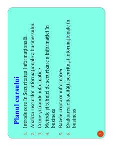 Securitatea Informationala a Business-ului - Pagina 3