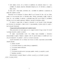 Programul de Stimulare Psihomotrica, Mijloc de Educare a Componentelor Psihomotrice a Prescolarilor - Pagina 5
