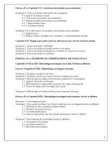 Continutul Tematic al Cursului de Criminalistica - Pagina 4