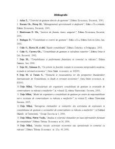 Contabilitatea de Gestiune - Pagina 1