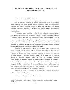 Rolul Concurentei in Economia de Piata - Pagina 3