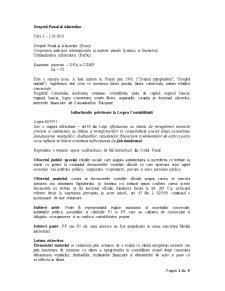 Drept Penal al Afacerilor - Pagina 1
