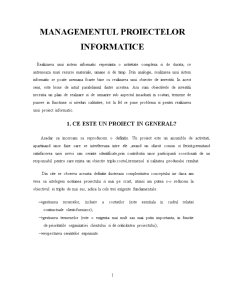 Managementul Proiectelor Informatice - Pagina 1