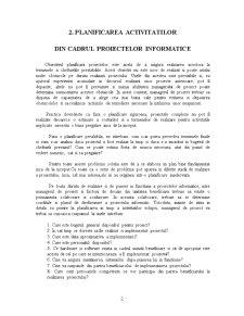 Managementul Proiectelor Informatice - Pagina 2