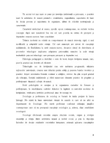 Monografia Profesiei de Sociolog - Pagina 4