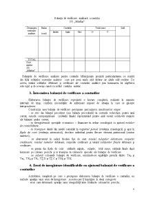 Balanța de Verificare - Procedeu de Centralizare și Verificare a Înregistrărilor Efectuate cu Ajutorul Conturilor - Pagina 4