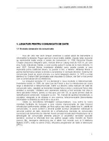 Retele de Calculatoare - Legaturi petru Comunicatii de Date - Pagina 1