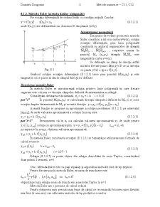 Metode Numerice - Pagina 2