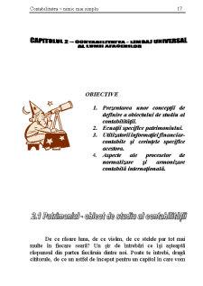 Contabilitatea -Limbaj Universal al Lumii Afacerilor - Pagina 1