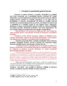 Conceptul și Caracteristicile Gestiunii Bancare - Pagina 2