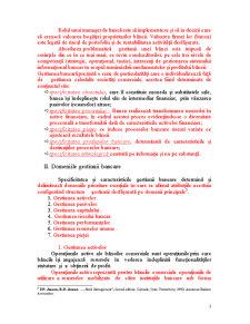 Conceptul și Caracteristicile Gestiunii Bancare - Pagina 3