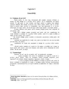 Condiții de Valabilitate ale Actului Juridic Civil - Pagina 1