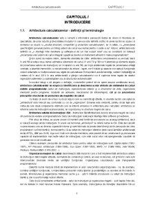 Arhitectura Calculatoarelor - Pagina 1
