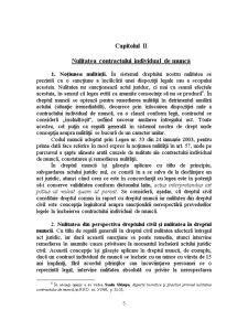 Nulitatea Contractului Individual De Muncă - Pagina 5