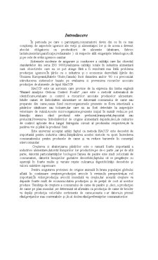 Aplicarea Sistemului HACCP într-o Unitate de Abatorizare a Puilor - Pagina 4