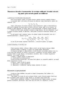 Bazele Cercetarii Experimentale - Pagina 1