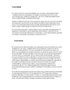 Unitate Centrală de Prelucrare - Pagina 1