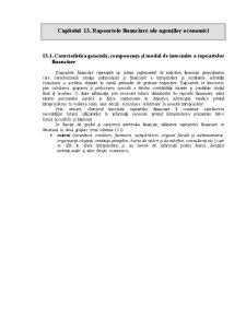 Rapoarte Financiare - Pagina 1