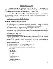 Chimie Tehnologică - Pagina 2