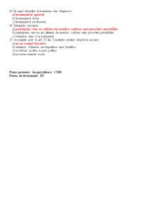 Teste Drept - Stiinte Economice - Pagina 3