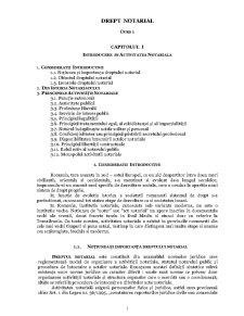 Drept Notarial - Pagina 1
