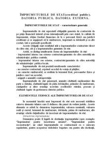 Împrumuturile de Stat - Pagina 1