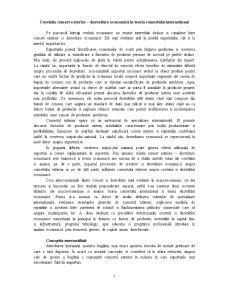 Comert International si Dezvoltare Economica - Pagina 1