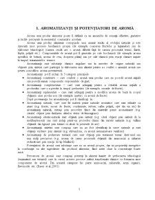 Potentiatori de Aroma - Glutamatul Monosodic - Pagina 1