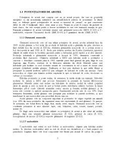 Potentiatori de Aroma - Glutamatul Monosodic - Pagina 2