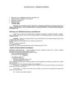 Elasticitatea Cererii și a Ofertei - Pagina 1