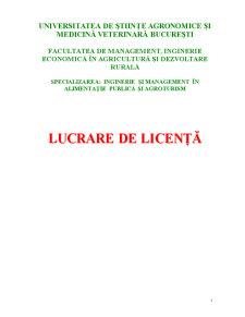 Cercetari Privind Implementarea Marcii Q in Pensiunile Agroturistice din Romania - Studiu de Caz - Pagina 1