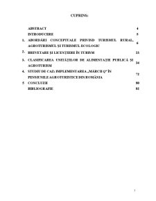 Cercetari Privind Implementarea Marcii Q in Pensiunile Agroturistice din Romania - Studiu de Caz - Pagina 3