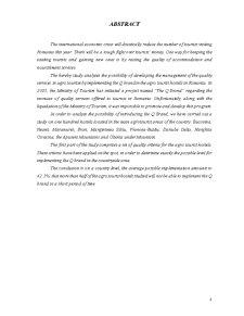 Cercetari Privind Implementarea Marcii Q in Pensiunile Agroturistice din Romania - Studiu de Caz - Pagina 4
