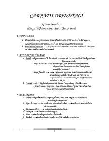 Descrierea Tuturor Formelor de Relief din România - Pagina 1