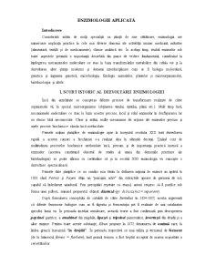 Enzimologie Aplicată - Pagina 1